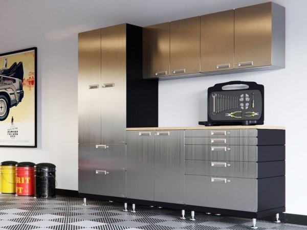 Exceptionnel Kit 3   Work Center Garage Cabinet System | 24u201dD X 90u201dW X 84u201dH