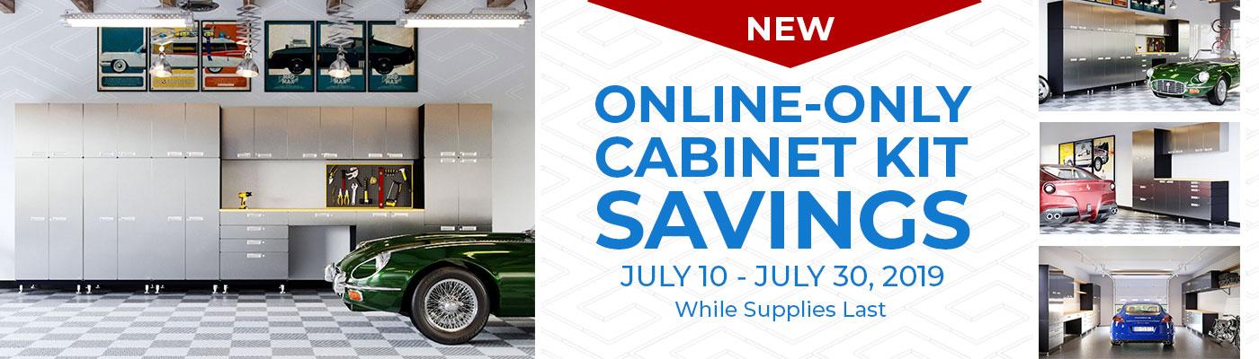 Hercke Garage Cabinet July Sale